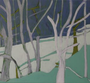 A Winters Tale oil on canvas 50 x 45 cm